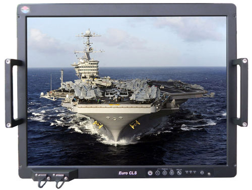 ship panel PC / built-in / vibration-resistant / waterproof