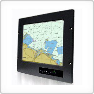 ship screen / for boats / navigation system / control