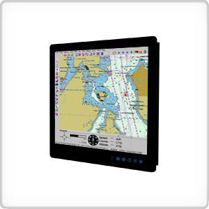 ship screen / for boats / navigation / multi-function