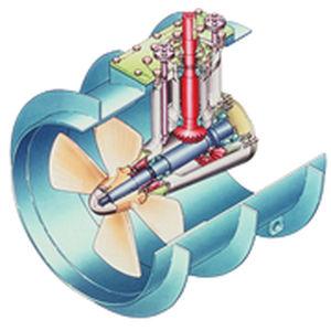 ship thruster / electric / hydraulic / diesel engine
