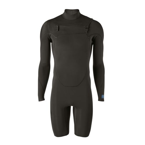 dive wetsuit without neoprene / one-piece / shorty / 2 mm