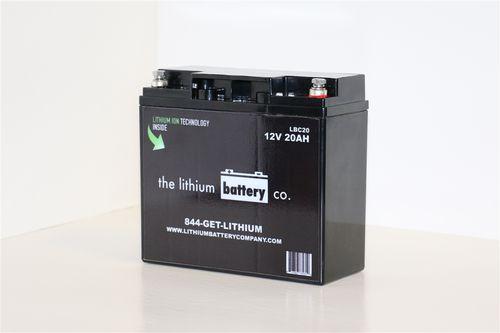 12V marine battery / ion / lithium