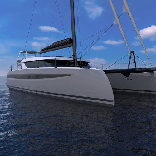 catamaran / ocean cruising / expedition / open transom