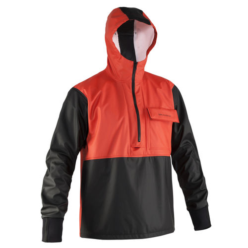 fishing jacket / hooded
