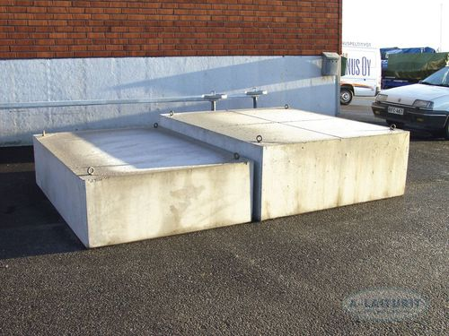 concrete float / for docks