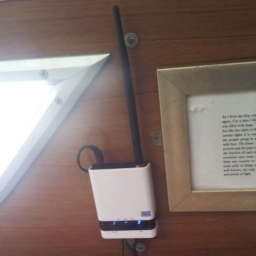 boat WiFi access point / for yachts