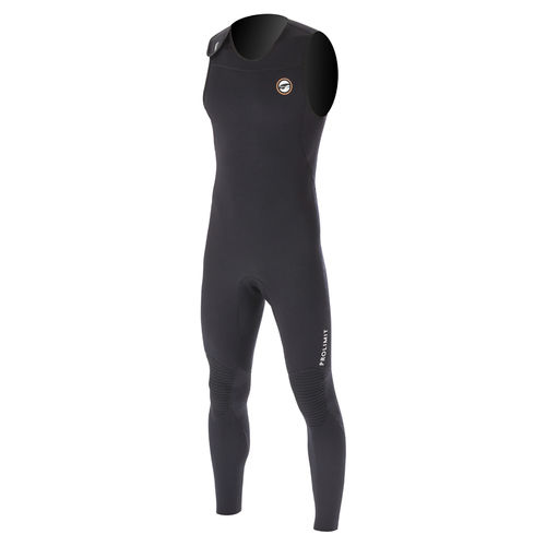 watersports wetsuit / full / sleeveless / 1.5 mm