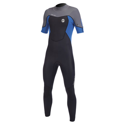 watersports wetsuit / full / short-sleeved / 3 mm