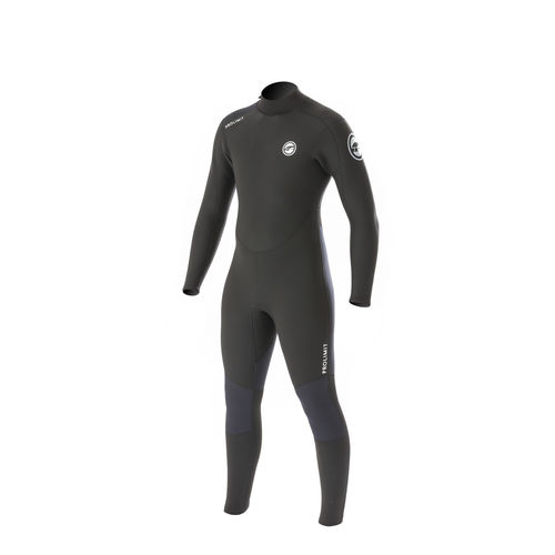 watersports wetsuit / full / long-sleeve / 4 mm
