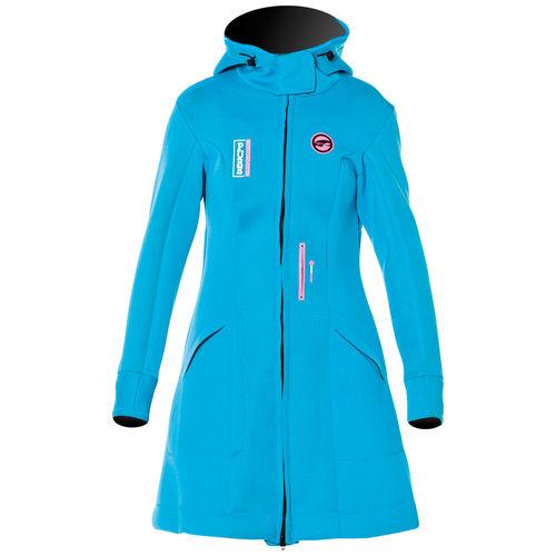 navigation jacket / women's / neoprene / hooded