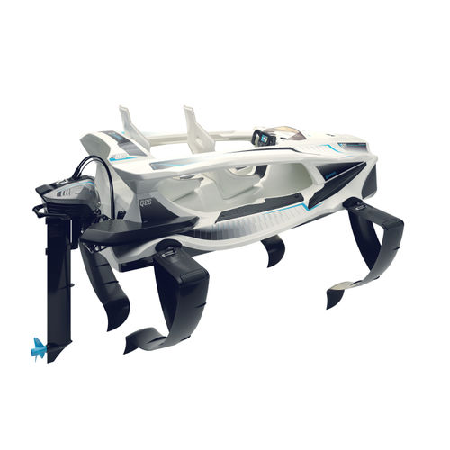 outboard small boat / electric / sport / 2-place