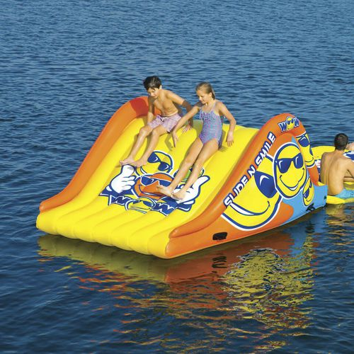 slide water toy / inflatable / floating