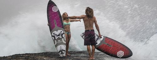 wave windsurf board / all-around / quad-fin / tri-fin