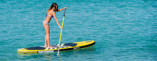 wave SUP / inflatable / women's