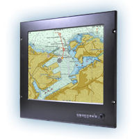 ship display / multi-function / navigation system / video
