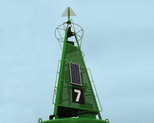 beacon buoy / high seas / steel