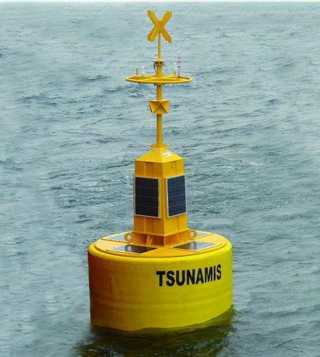 oceanographic buoy / beacon / high seas / tsunami detection
