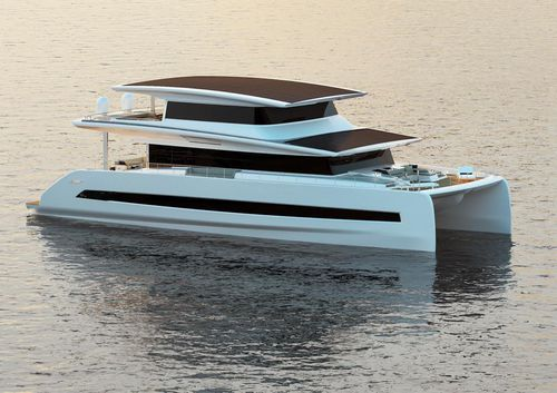catamaran motor yacht - SILENT-YACHTS