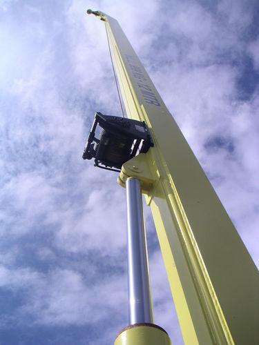 ship crane / telescopic