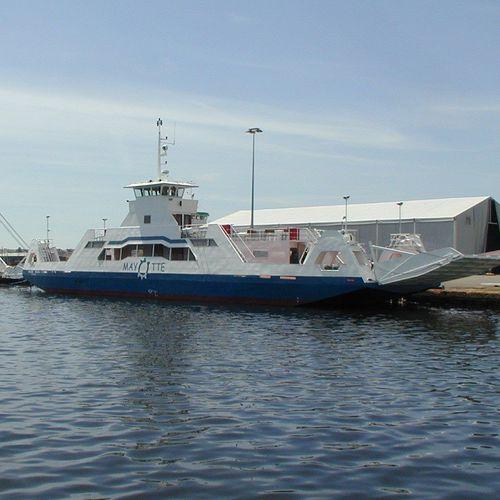 Ro-Pax river ferry