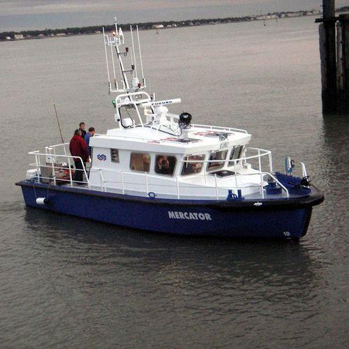hydrographic survey boat / inboard