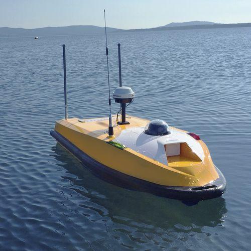 hydrographic survey marine drone - OceanAlpha