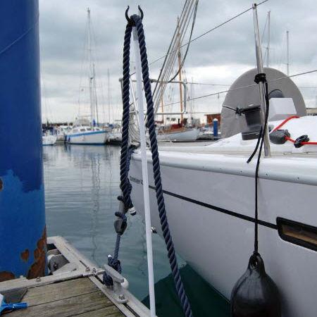 dock line holder