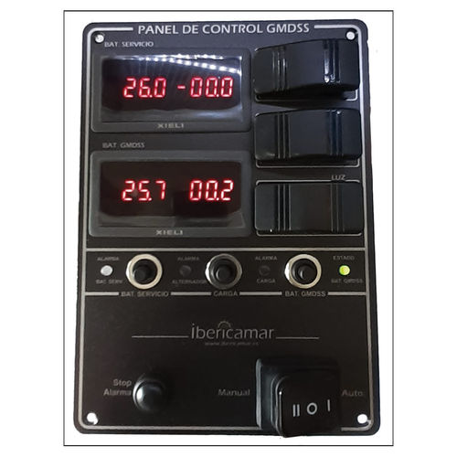 professional vessel control panel