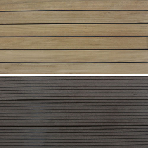 wooden dock decking