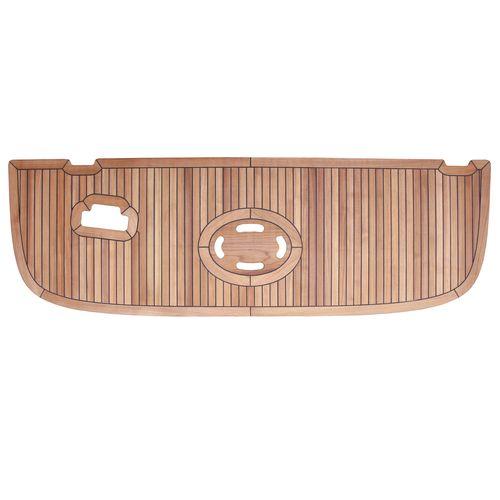 prefabricated boat decking / teak