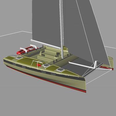 sailing catamaran / charter / 2-cabin / sail-drive