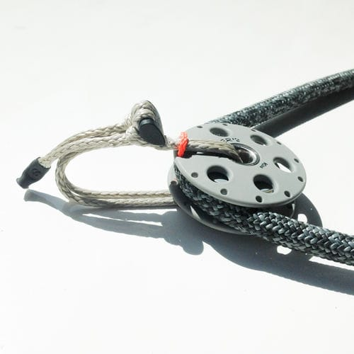 soft shackle for sailboats / Dyneema® / adjustable