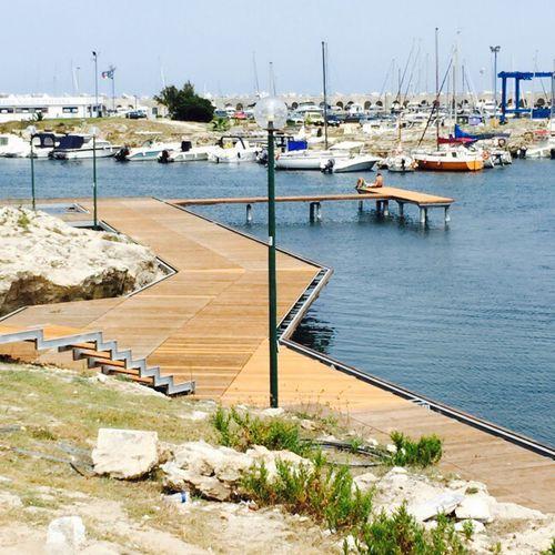 mooring dock - Nuova Metalmeccanica srl - MARINE DIVISION