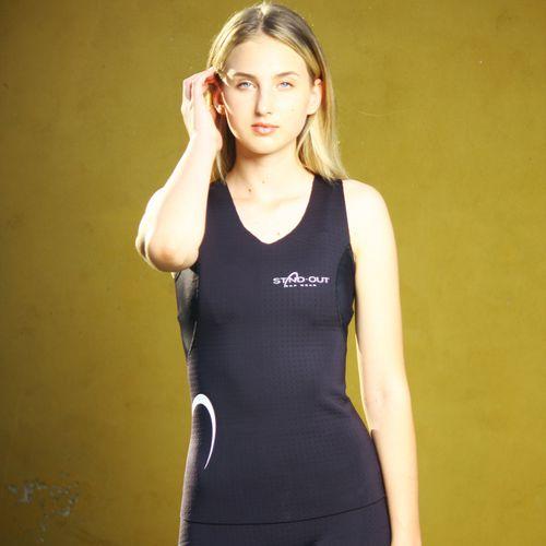 sleeveless neoprene top / women's / thermal