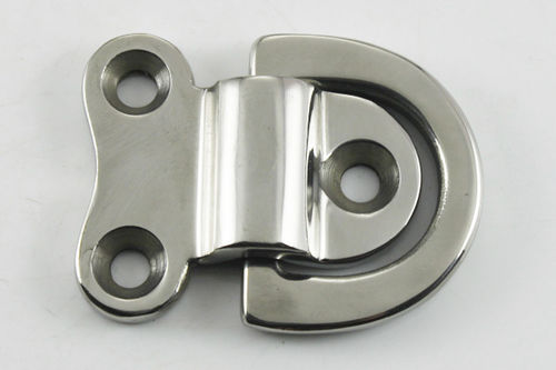 articulated pad eye for sailboats