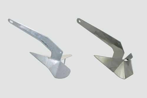 Delta anchor / for boats / stainless steel