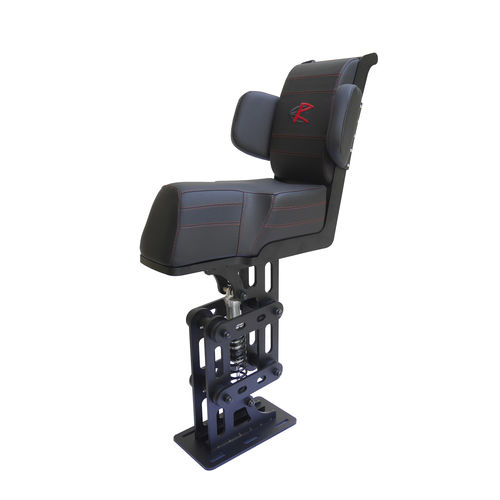 jockey seat / for boats / with lumbar support / suspension