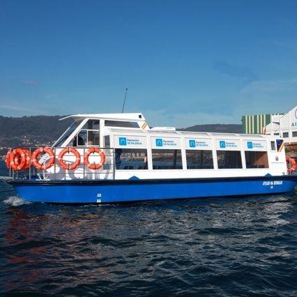 passenger boat / electric / aluminum