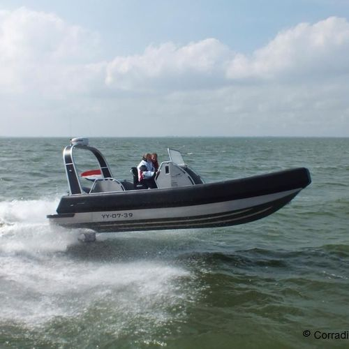 outboard inflatable boat / RIB / center console / aluminum