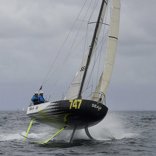 monohull / offshore racing / open transom / foiling
