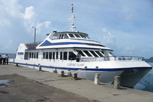 tourist excursion passenger ship / catamaran
