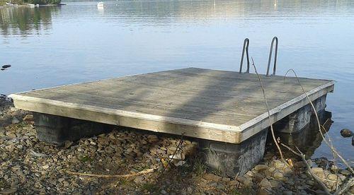 floating platform / for marinas / for recreation centers / swim