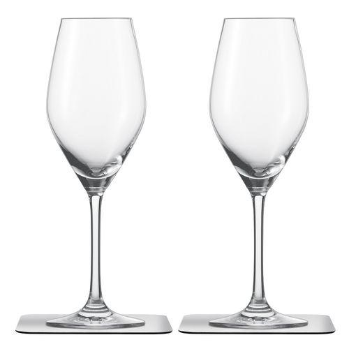 crystal chamapgne glass