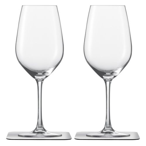 crystal glass / with magnet / wine