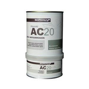 boat primer / for steel / epoxy / two-component