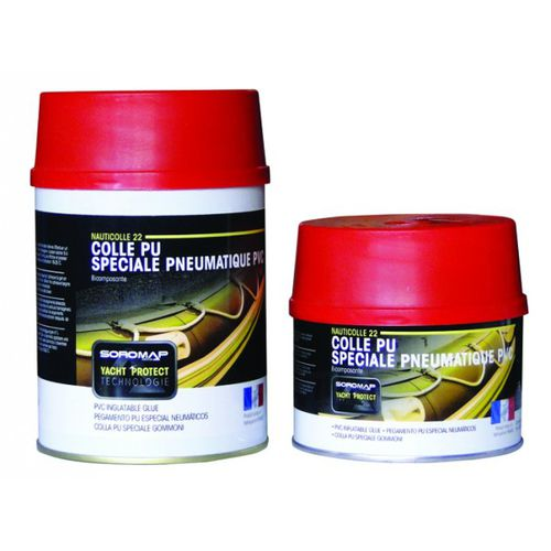 two-component adhesive / rubber / for plastics
