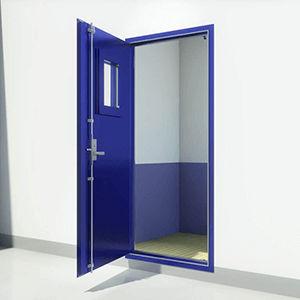 ship door / for offshore platforms / weathertight / A60
