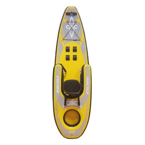 sit-on-top kayak / inflatable / recreational / sea