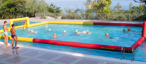 volleyball court water toy / inflatable