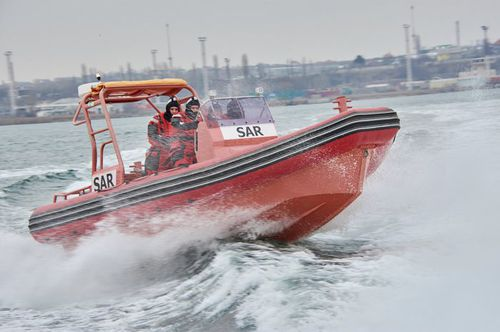 search and rescue boat
